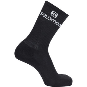 Salomon Crew Chaussettes Pack de 3, white/black/grey melange